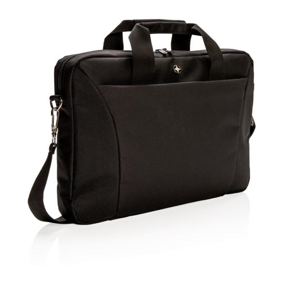 "Swiss Peak 15.4"" laptop tas, zwart"